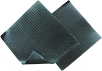 Испытание - визуальный осмотр диэлектрического резинового коврика.