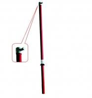 Испытание - изолирующей оперативной штанги повышенным напряжением.