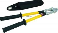 Испытание - диэлектрических ножниц до 1000 вольт для резки кабелей под напряжением, инструмента ручного изолирующего повышенным напряжением.